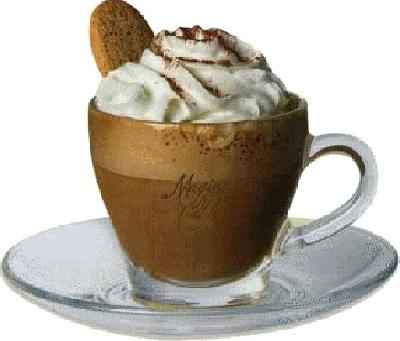 caffè con panna montata