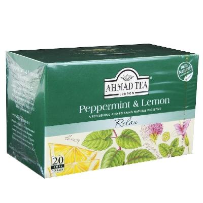 infuso menta e limone