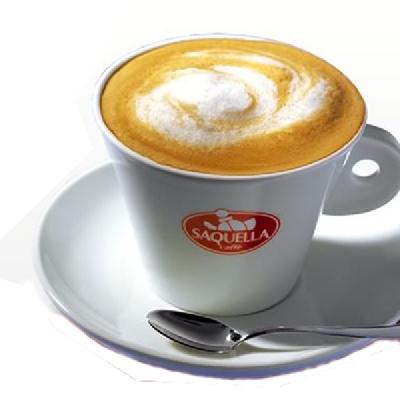 cappuccino  con decaffeinato
